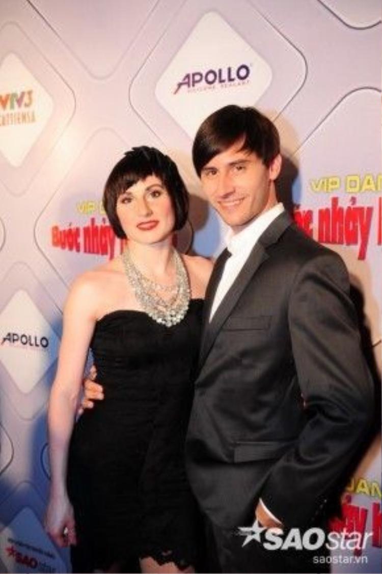 Cặp đôi kiện tướng Dancesport đến từ Cộng Hòa Séc.