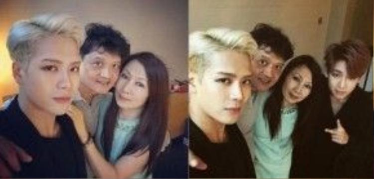 Jackson rất hiếm khi gặp bố mẹ vì họ thường xuyên đi nước ngoài.