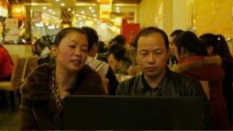 Bà Liu Ting và ông Tang Yujun. Ảnh: BBC