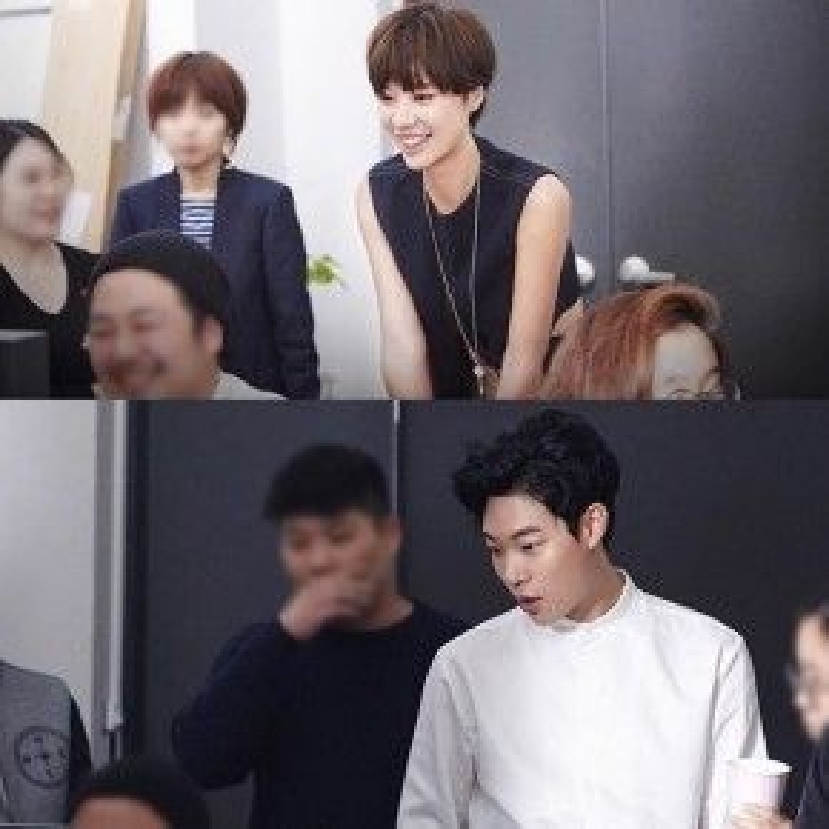 Hwang Eum Jung và Ryu Yoon Yeol trong tạo hình mới