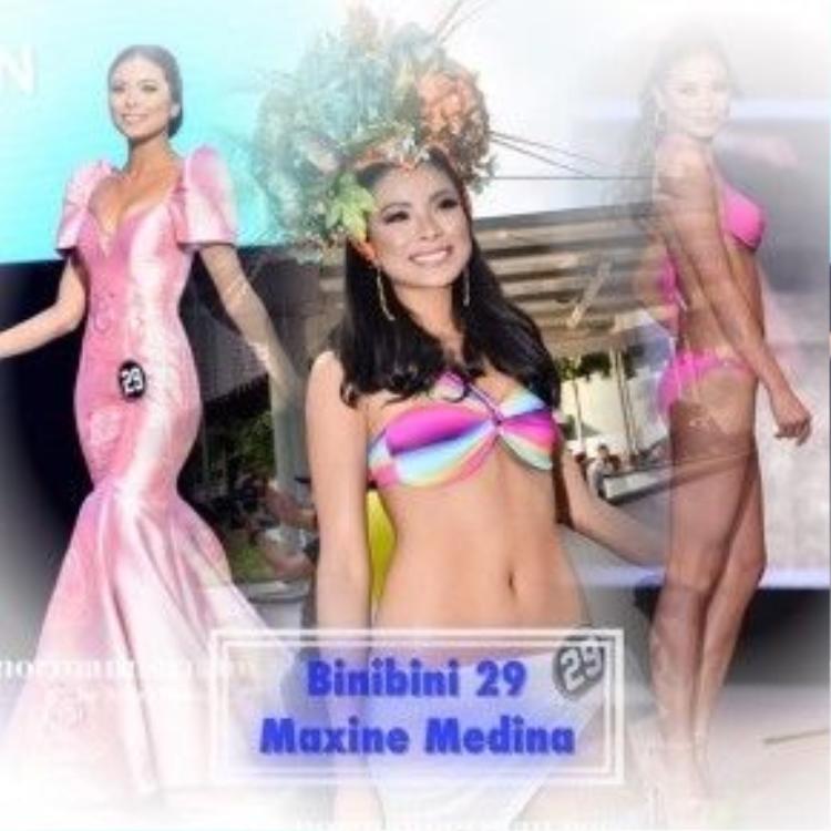 Medina với những diện mạo nhan sắc thay đổi mỗi lúc một khác trong những phần thi áo tắm và trang phục dạ hội khiến khán giả cũng nhiều lần lao đao để tìm ra được cô trong dàn thí sinh dự thi.