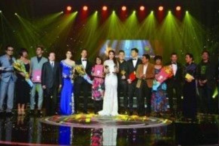 Lễ trao giải Cánh Diều Vàng 2015