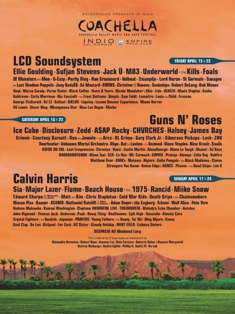 Đâu là những cái tên biến Coachella thành lễ hội âm nhạc hot nhất hè này?
