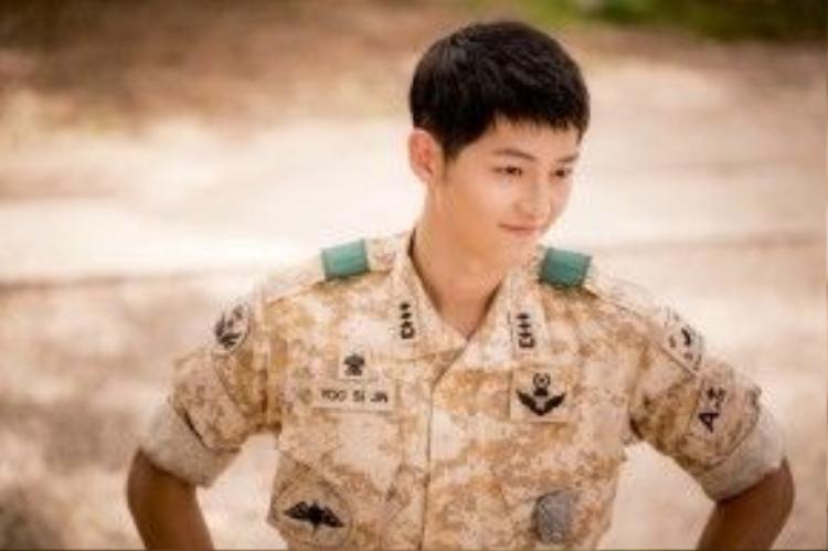 Yoo Shi Jin đã lên đến cấp bậc Đại úy trong khối Lục quân Hàn Quốc