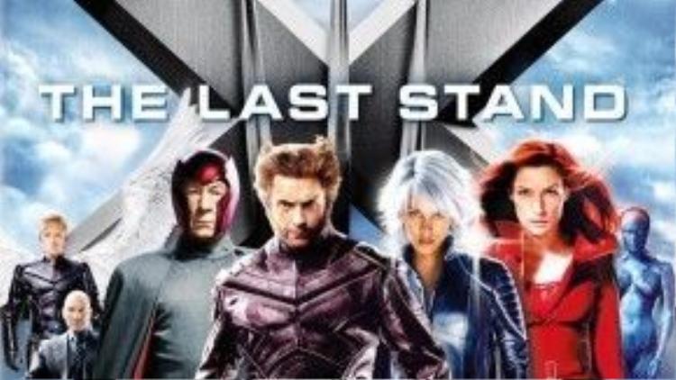 X-Men 3: The Last Stand là phần phim cuối cùng trong bộ 3 series gốc về dị nhân.