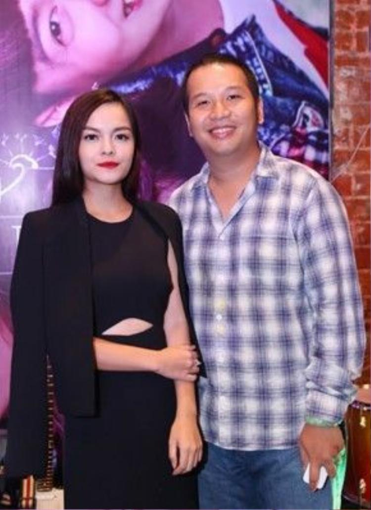 Vợ chồng Quang Huy - Quỳnh Anh