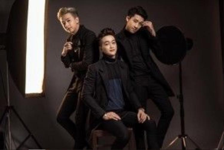 Ba chàng trai HKT đã thay đổi về ngoại hình rất nhiều.