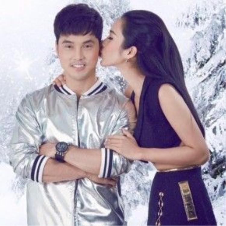 Cả Ưng Hoàng Phúc cũng như siêu mẫu Kim Cương đều rất mong chờ đứa con đầu lòng của mình.