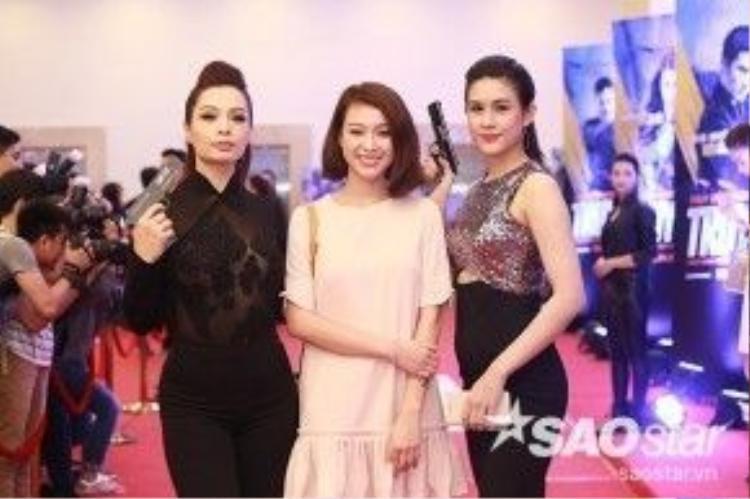 Cựu người mẫu Thúy Hằng, Trương Tùng Lan và Lô Hương Trâm.