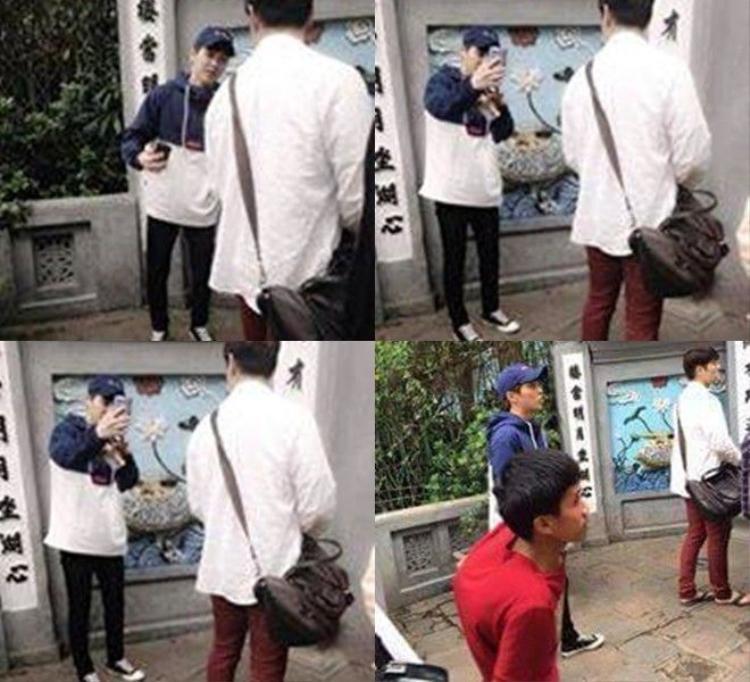 HOT: Rò rỉ hình ảnh thành viên đáng yêu nhất EXO  Xiumin đang ở Hà Nội