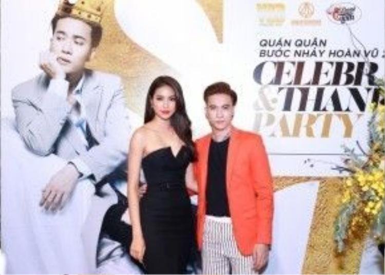 Phạm Hương là người đã theo dõi và dành nhiều tình cảm cho S.T trong thời gian diễn ra cuộc thi.