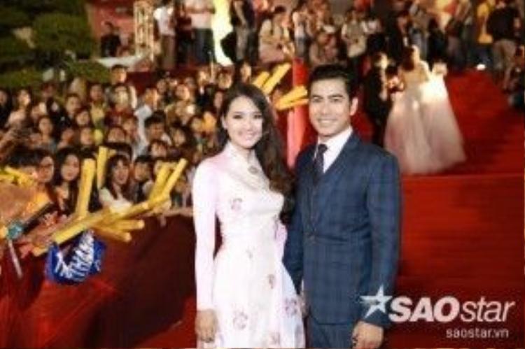 Cặp đôi đẹp của làng điện ảnh Việt Nam - Ngọc Lan và Thanh Bình.