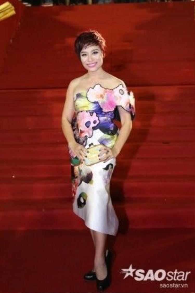 Biên đạo múa Trần Ly Ly.