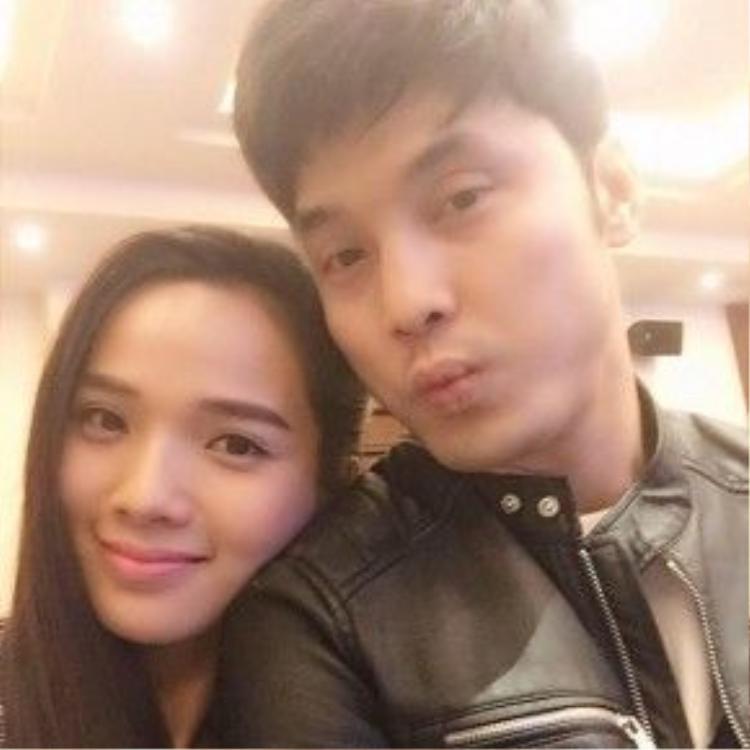 Ưng Hoàng Phúc và siêu mẫu Kim Cương công khai mối quan hệ vào đầu năm 2014 sau một năm hẹn hò.