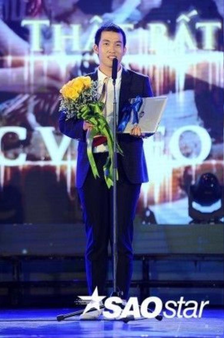 Mew Amazing tiếp tục giành thêm giải thưởng Cống Hiến cho mình