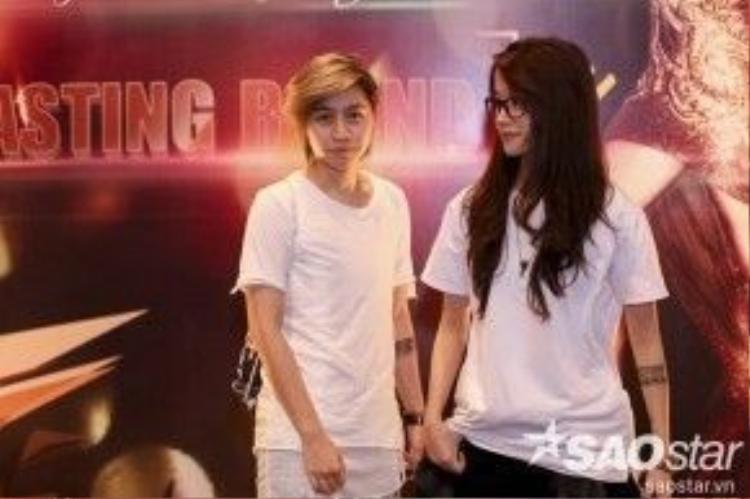 Alexandra Ng luôn sát cánh bên cạnh An Nguy trong bất kỳ sự kiện nào.