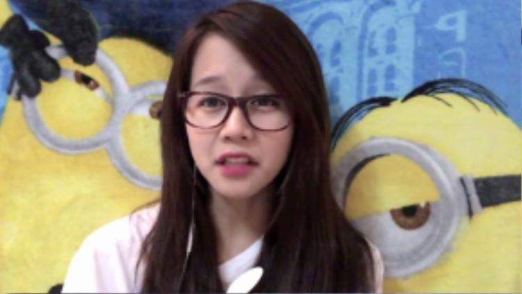 """Hình ảnh An Nguy trong Vlog """"Tình yêu không có lỗi, thế lỗi tại ai?""""."""
