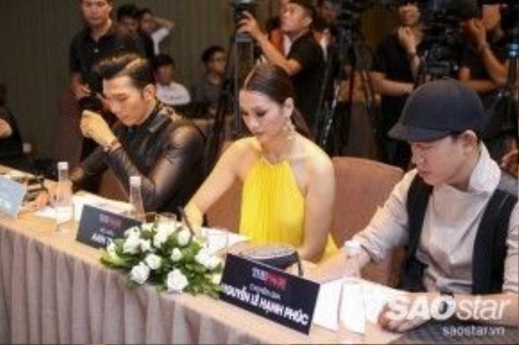 3 vị BGK đều phải cân nhắc và chọn lọc rất kĩ trước những thí sinh tiềm năng của buổi casting