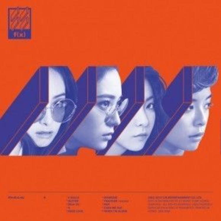 Album 4 Walls của f(x).
