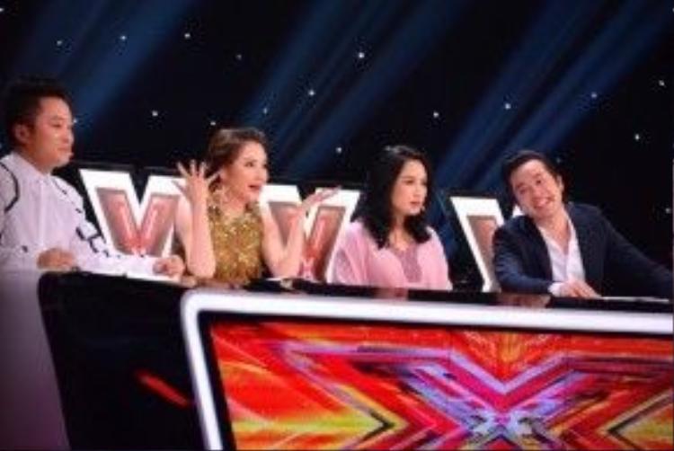4 giám khảo trong vòng Lộ diện