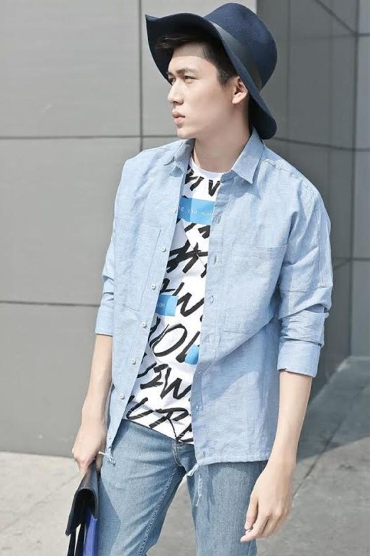 Đỗ Thành Vinh -Hyun Bin Việt Nam với style thời trang đơn giản mà vẫn đẹp