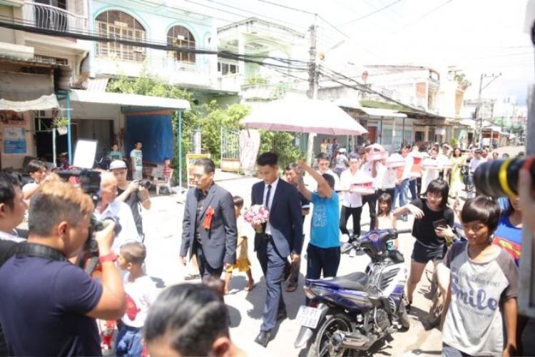Thánh quẩy xuất hiện tại đám hỏi Mạc Hồng Quân và Kỳ Hân