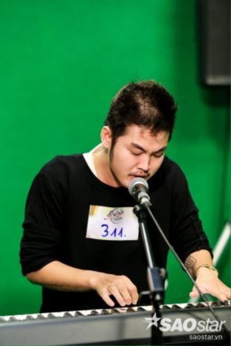 Các thí sinh dự thi chương trình Sing my song đa số được đào tạo bài bản và có khả năng chơi tốt được các loại nhạc cụ.