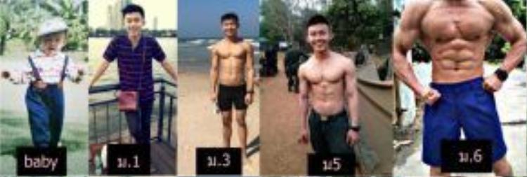 Quá trình biến hóa sau 6 tháng tập luyện chăm chỉ của Punpun Ispike