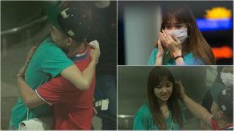 """Hay khi giữa """"tâm bão"""" scandal tình cảm, anh vẫn ra sân bay tiễn người yêu cũ về Hàn Quốc. Tình cảm mà Tiến Đạt - Hari Won dành cho nhau thật đáng trân trọng và ngưỡng mộ."""