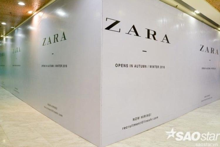 Rộ tin 15/9 Zara chính thức mở cửa đại bản doanh tại TP HCM
