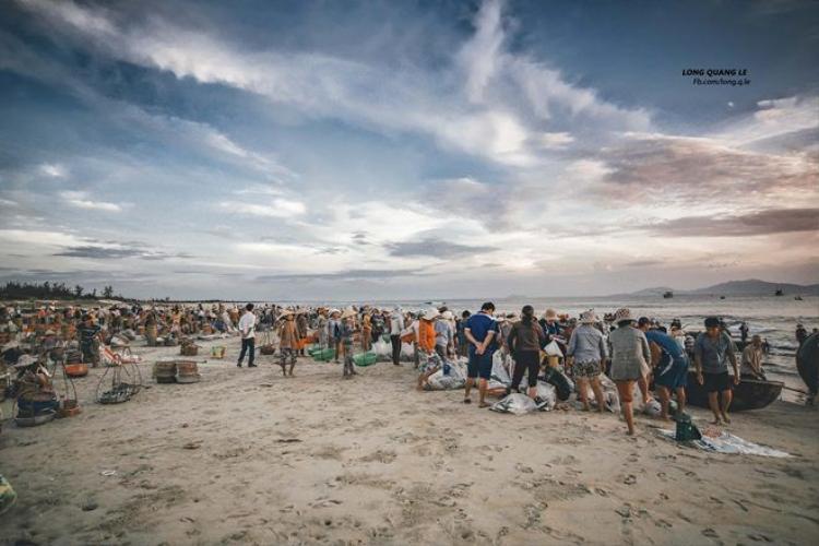 Buổi sáng yên bình ở làng chài Thăng Bình  Quảng Nam qua ống kính của nhiếp ảnh gia 9x