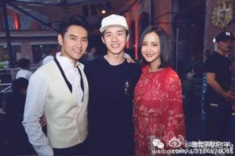 Lưu Hạo Nhiên sang Đức tham dự lễ cưới của Viên Hoằng.
