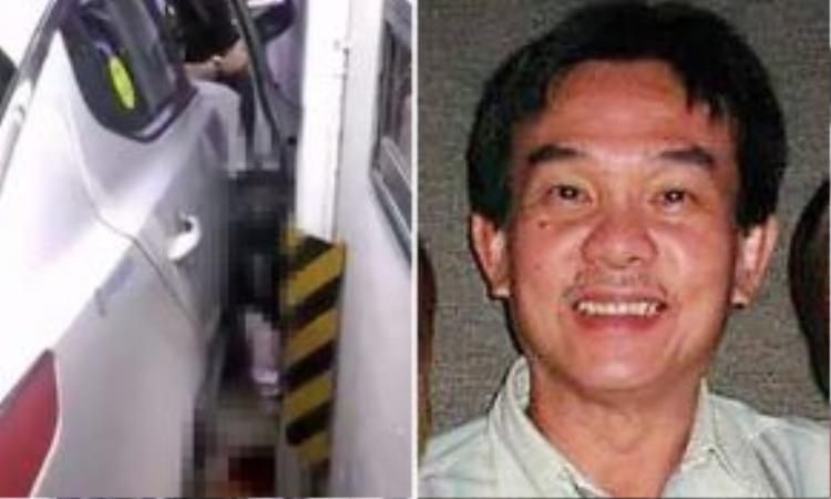Việc đạp nhầm chân khi đang cố nhoài người quẹt thẻ đã khiến đầu ông Vương kẹt giữa cửa xe và thân xe.