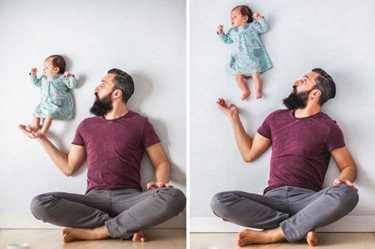 Kỷ niệm thân thương với bố khiến mắt bạn cay cay