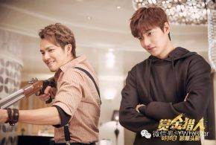 Dù chênh nhau 13 tuổi nhưng Chung Hán Lương và Lee Min Ho phối hợp rất ăn ý.
