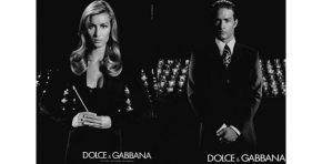 Dolce & Gabbana Spring/Summer 2001 campaign with Gisele Bundchen