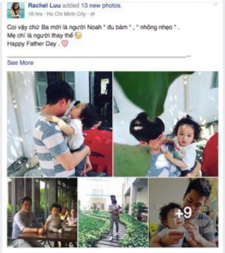 Trong khi đó, hoa hậu Diễm Hương lại dành những lời ngọt ngào dành cho người chồng mới cưới của mình. Sau rất nhiều sóng gió, cuối cùng cô cũng có một gia đình hạnh phúc.