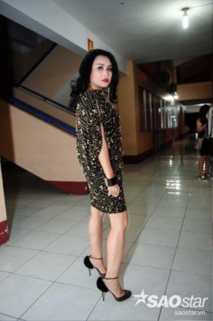 Tuần này, Thanh Lam cũng bất ngờ xuất hiện với phong cách quyến rũ.