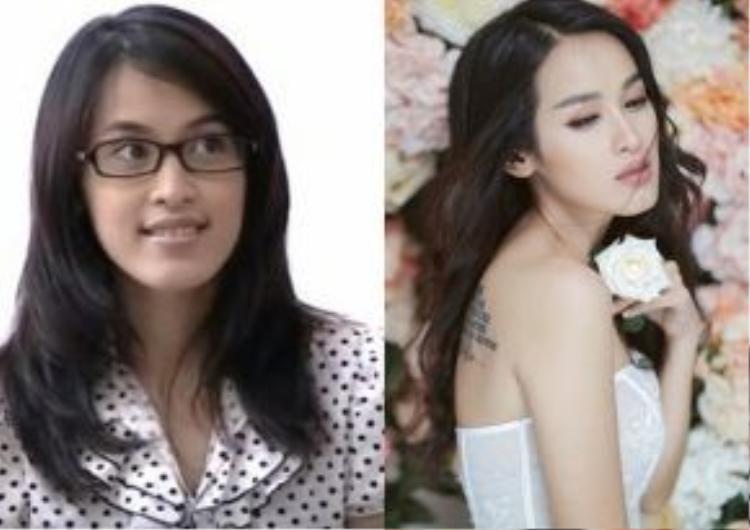 Tú Vi trong vai diễn Trà mọt sách - cô sinh viên giản dị và thẳng thắn của Cổng mặt trời. Người đẹp sinh năm 1986 ngày càng xinh đẹp và quyến rũ hơn ở tuổi 30.