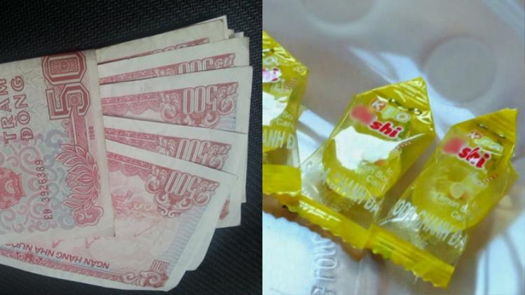 Độc chiêu của thanh niên cứng phản ứng cách trả tiền thừa bằng kẹo ở siêu thị