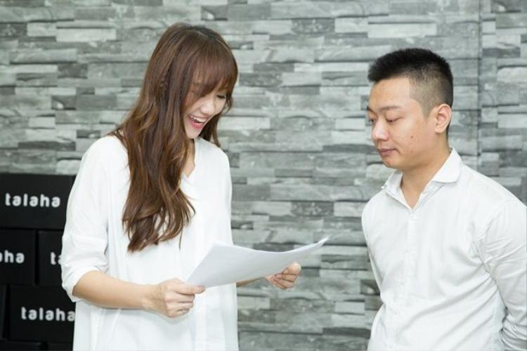Hari Won giản dị đi dự sự kiện khai trương shop thời trang