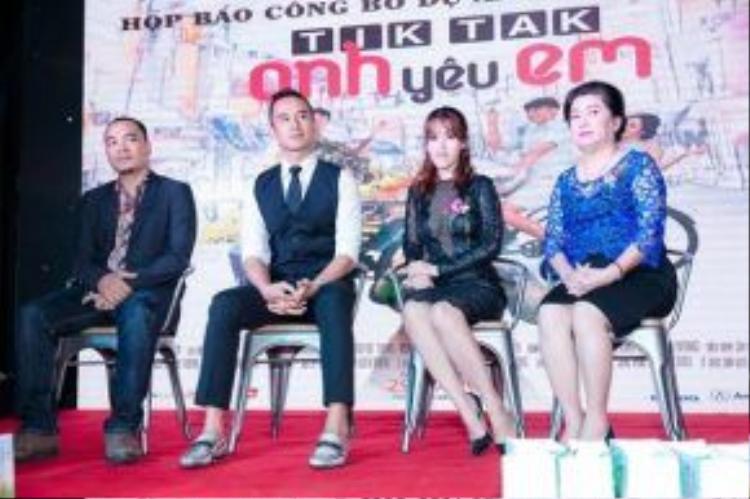 Đạo diễn Trần Ka My - Lương Thế Thành - Tú Vi - Bà Dung Bình Dương