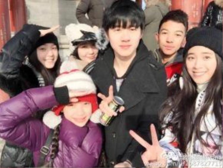 Hạo Nhiên đi chơi cùng gia đình Na Na.