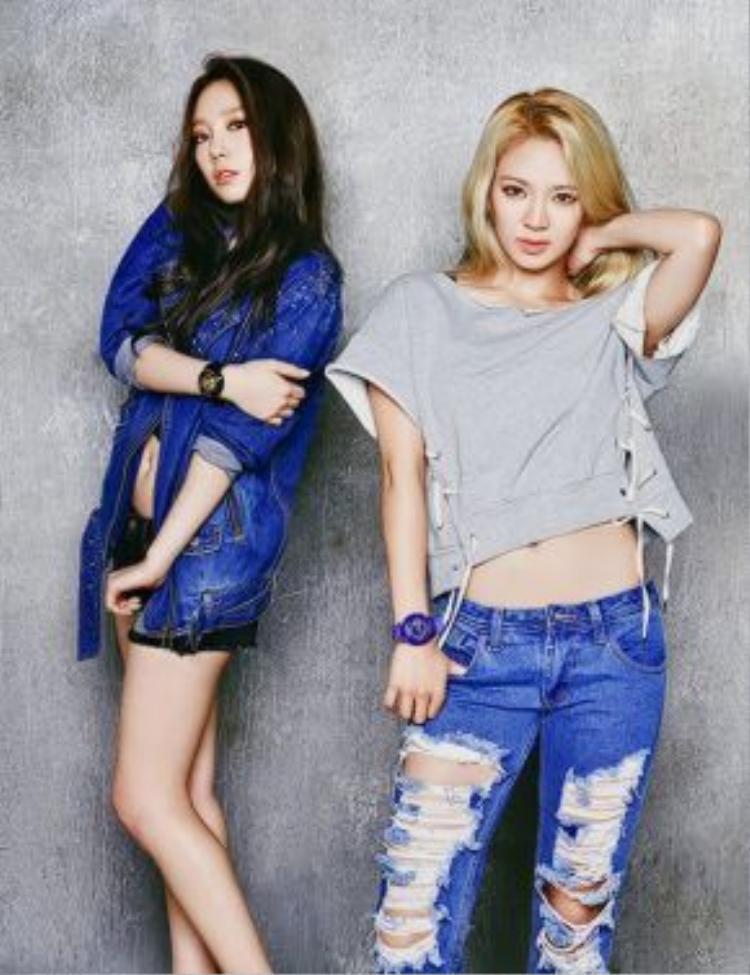 HyoYeon sẽ góp giọng cùng TaeYeon trong ca khúc Up & Down.