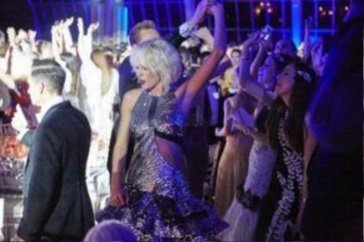 Taylor từng quậy tưng khi gặp Tom tại Met Gala.
