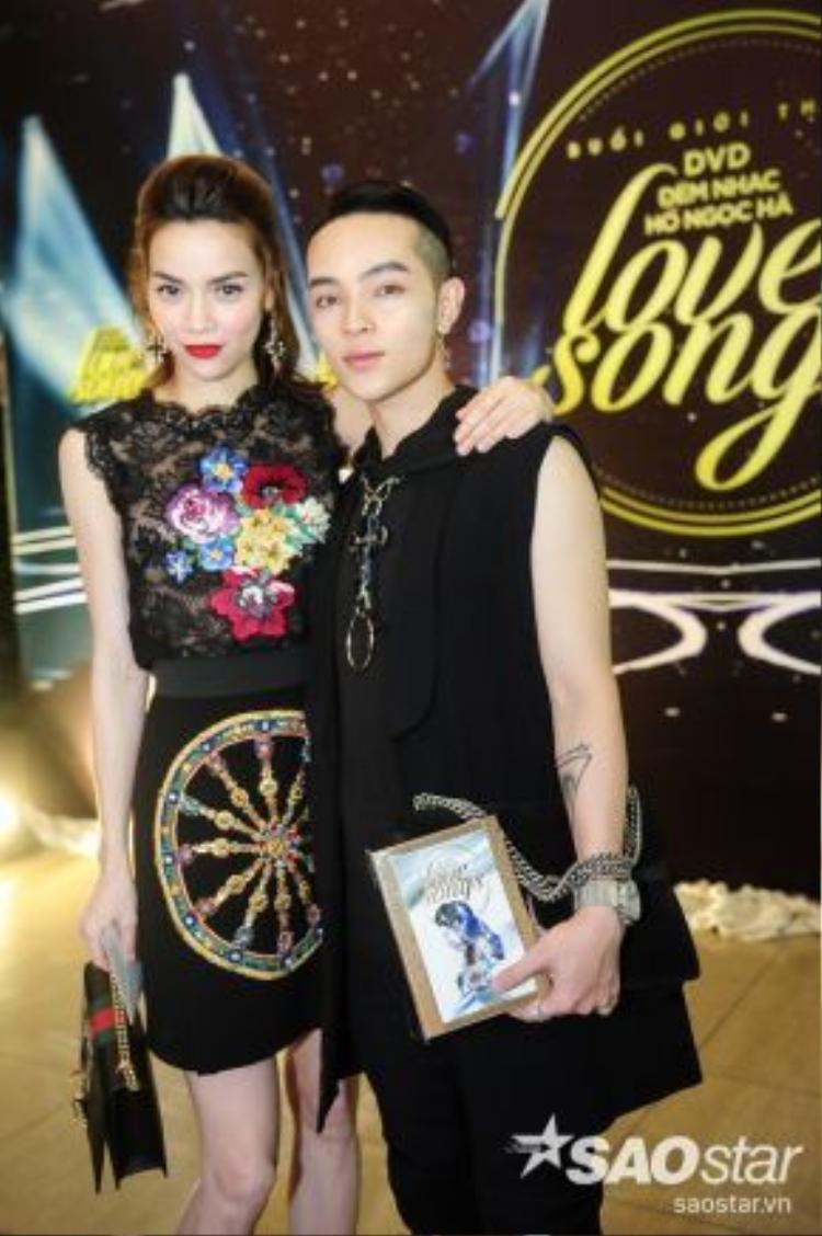 Stylist của đội Hồ Ngọc Hà trong chương trình The Face - Kelbin Lei cũng có mặt.