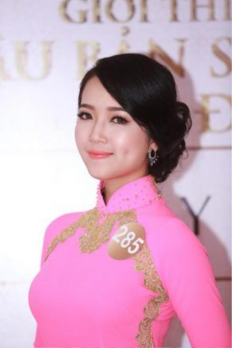 Hình ảnh người con gái miền Trung đằm thắm, ngọt ngào đã được truyền tải rõ nétqua vòng sơ tuyển nhan sắc của cuộc thi Hoa hậu Bản sắc Việt toàn cầu diễn ra tại Thành phố Đà Nẵng.