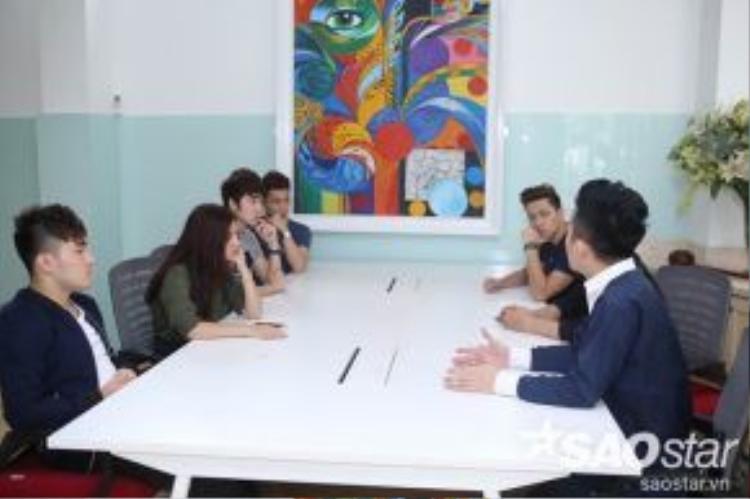 Tùng Dương và các học trò