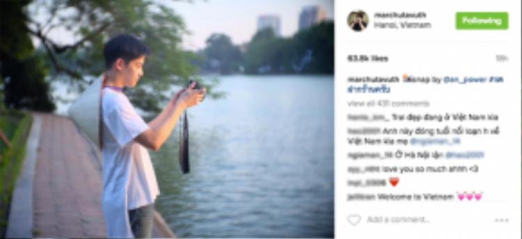 """Hồ Gươm là địa điểm """"must-to-see"""" đối với bất kỳ ngôi sao quốc tế hay người nước ngoài khi đến Việt Nam. Được coi là trái tim của thủ đô nước ta, Hồ Gươm không chỉ là một thắng cảnh đẹp, độc đáo giữa lòng thành phố mà còn in dấu nhiều giai thoại lẫn di tích lịch sử."""