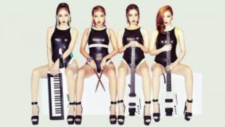Wonder Girls lột xác với concept ban nhạc trong lần trở lại mới nhất vào năm ngoái.